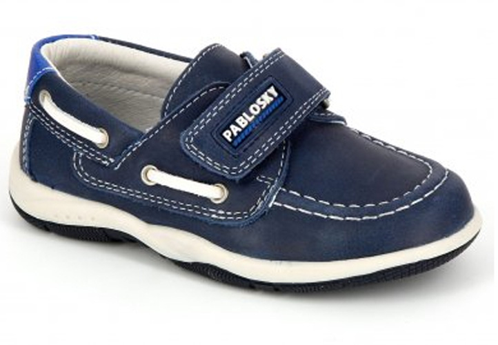 2e75dcc56d8 Náuticos Niño Azul Marino Velcro - Los Zapatitos Rojos