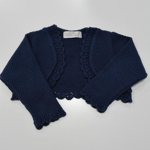 b416ce8ea Chaqueta Dolce Petit Color Azul Marino - Los Zapatitos Rojos