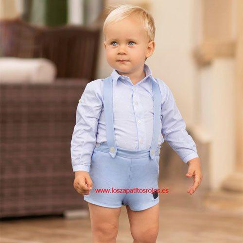 2f70957f4 ... Dolce Petit Conjunto Bebé Camisa y Pantalón · Los Zapatitos Rojos