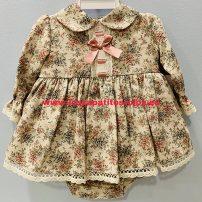 Vestido y Braguita Bebé Estampado